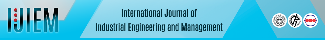 International Journal of Industrial Engineering and Management